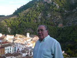Mi padre en Bogarra (Albacete)
