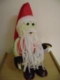 Papai Noel melancia e nabo