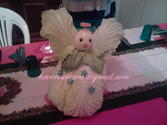 Natal - Anjo de Acelga e cebola
