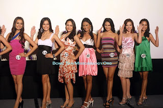 Official Candidates of Bb. Pilipinas for 2010
