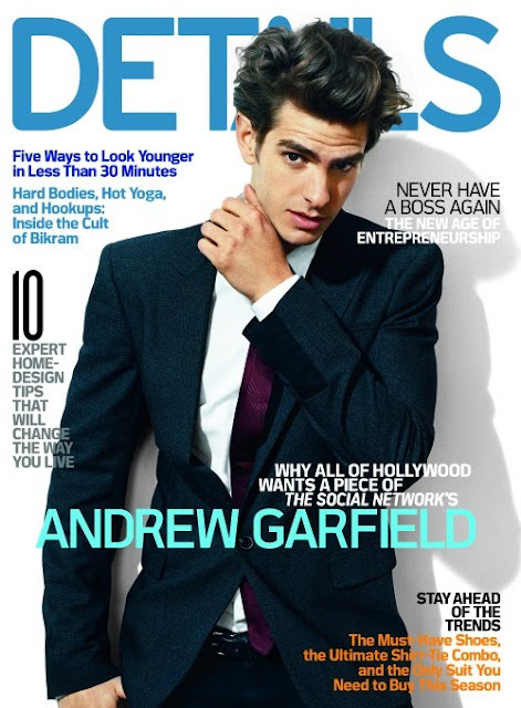 Andrew Garfield on the cover of details