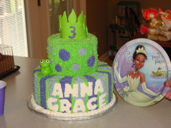 disney princess and frog cakes. princess and the frog castle