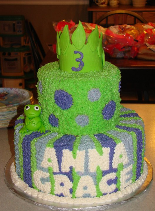 disney princess and frog cakes. Princess Frog Diaper Cake