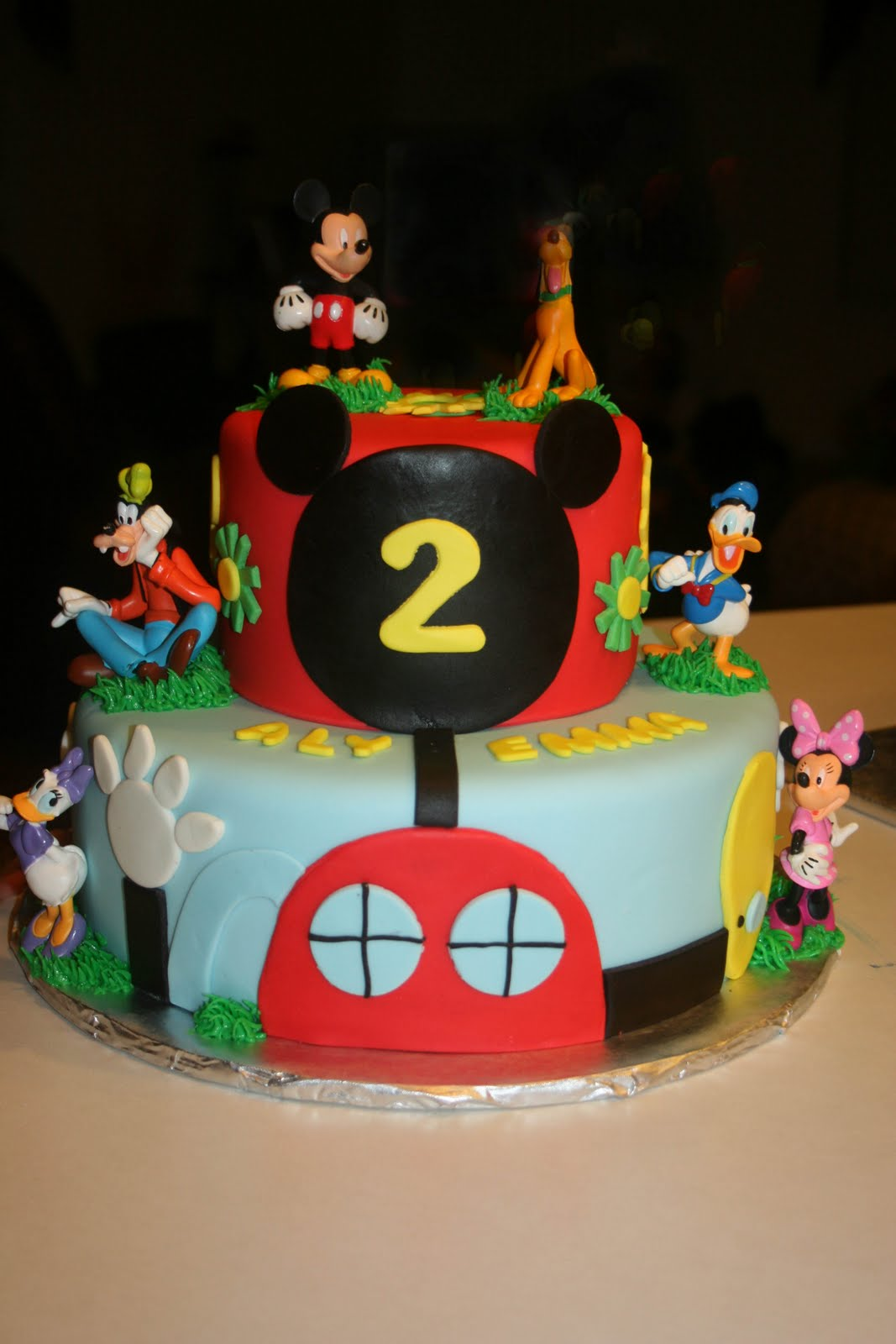 Mickey Mouse Clubhouse Cake Images : Carly s Cakes: Mickey Mouse Clubhouse