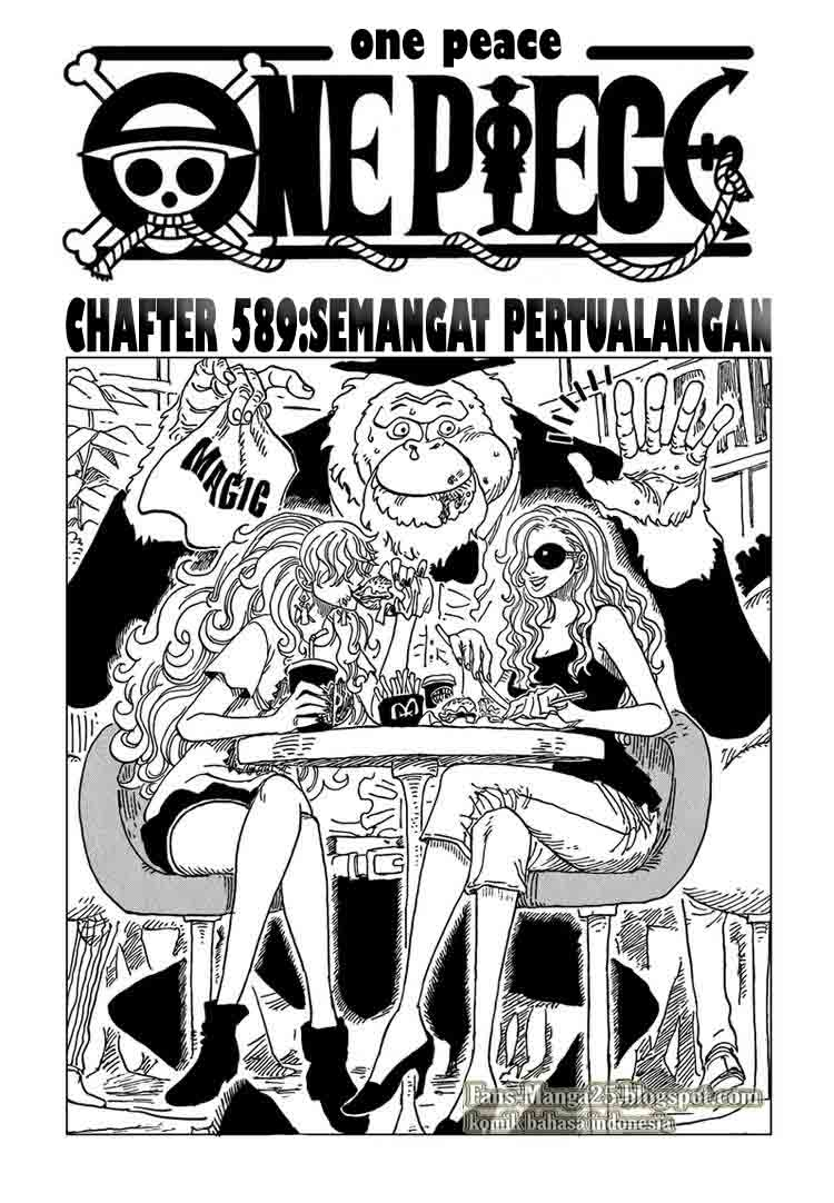Komik One Piece Chapter Semangat Petualangan