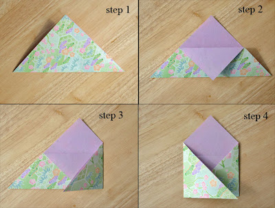 "ORIGAMI INSTRUCTIONS ENVELOPE "" EMBROIDERY & ORIGAMI"