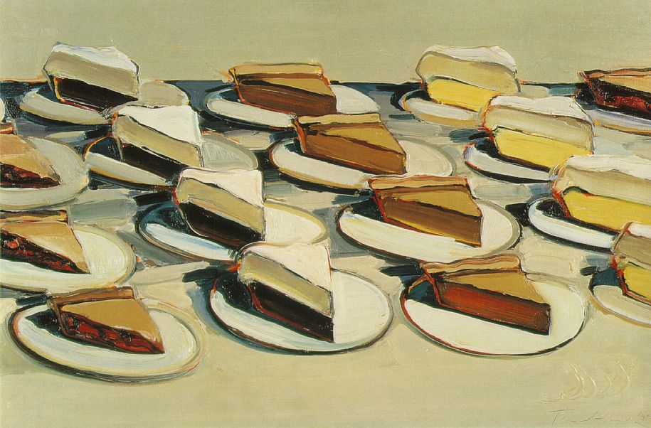 1961 by wayne thiebaud.