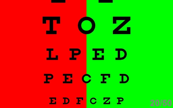 Computerized Visual Acuity Chart Program Has Multiple Features