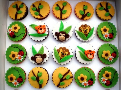 cakes for kids to make. Cupcakes For Children - Jungle