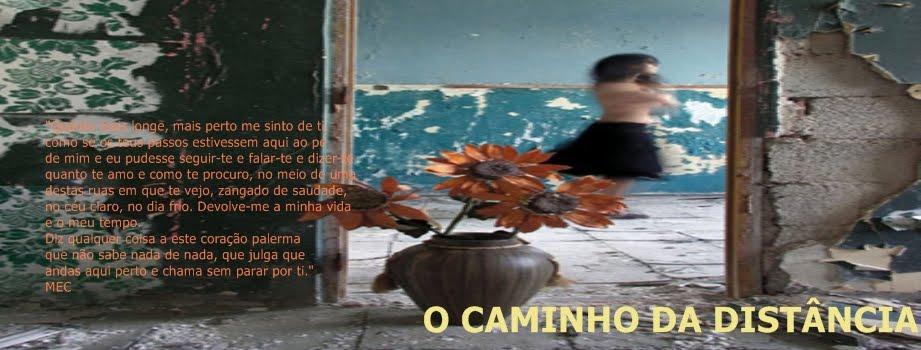 O CAMINHO DA DISTÂNCIA