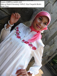 Beautiful Moslem Fashion of Jilbab Kids