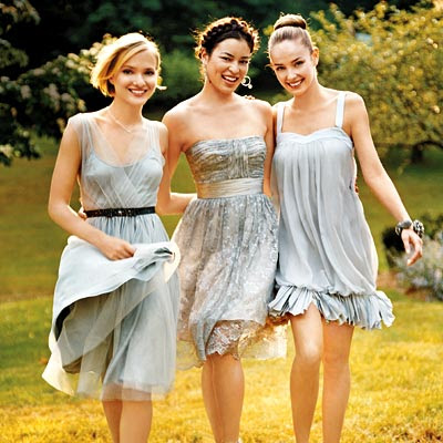 Wedding Dress Bridesmaid Dresses on Gray Wedding Bridesmaid Dresses 2011 For Wedding Day