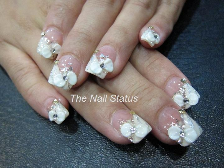 The nail status bridal nails bridal nails prinsesfo Images