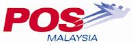 Shipping via POS MALAYSIA
