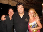 Com Ricardo Beccari e Cmte Pimentel no Recital Thermas-RN