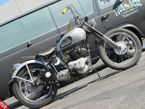 Wing Nuts Motorcycle Club  1948 Triumph T100 Tiger For Sale