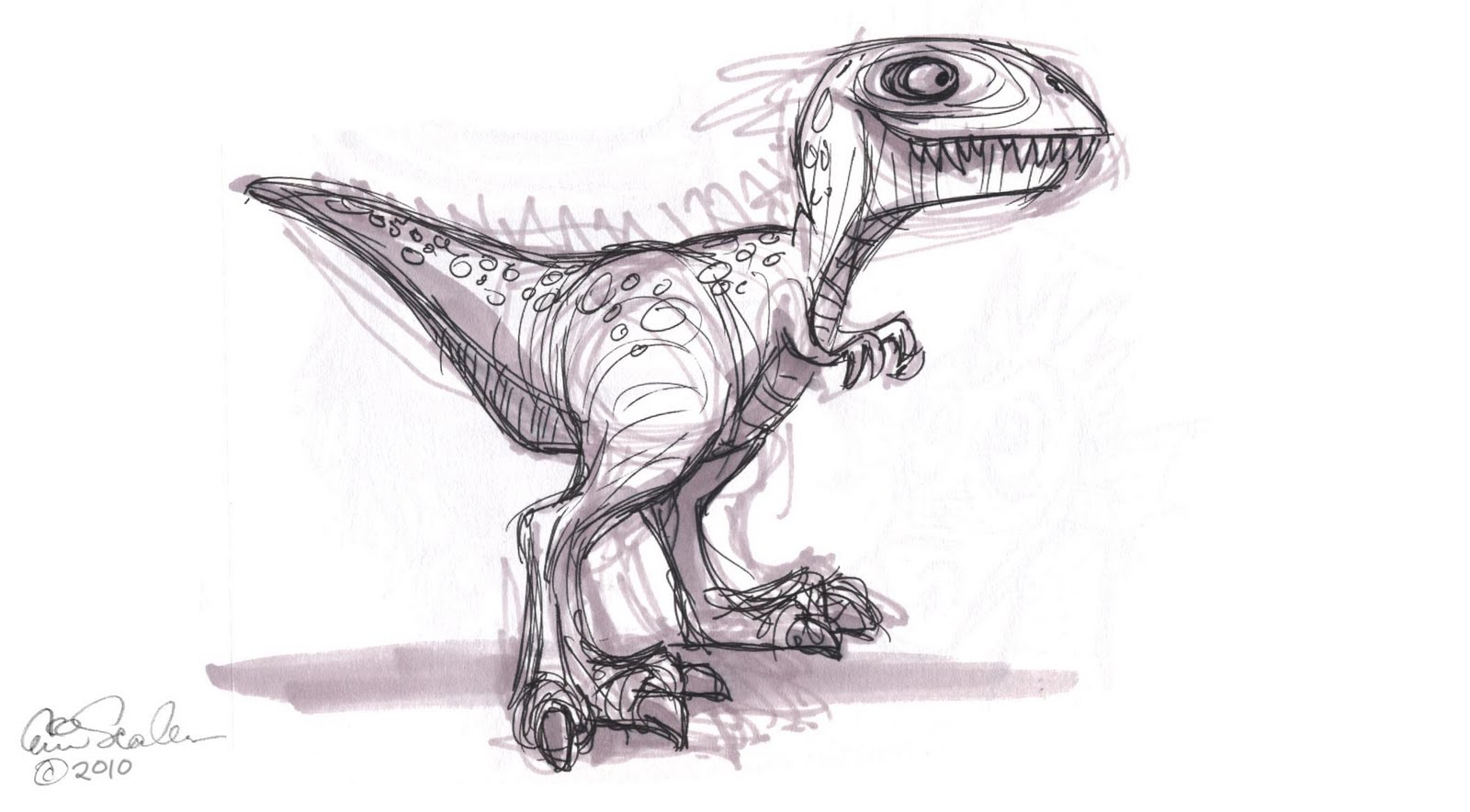 Jurassic Park Dinosaur Drawings The Ol Sketchbook Dinosaurs
