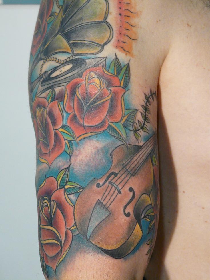 tatuajes old school taringa. derecho el reloj de arena - Tatuajes De Rock - Taringa!