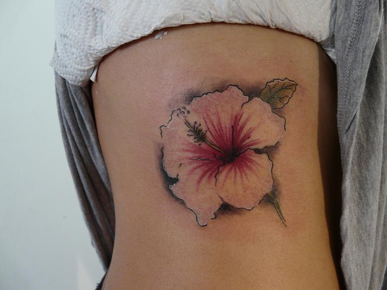 flores tattoo. Esta ves unas flores bien