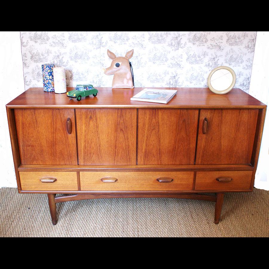 le blog de bobidavintage mobilier scandinave. Black Bedroom Furniture Sets. Home Design Ideas