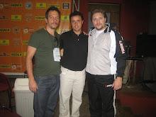 Fernando Fernades Conf Brasileira eu Cristian Prevot Presidente Confe Canadense
