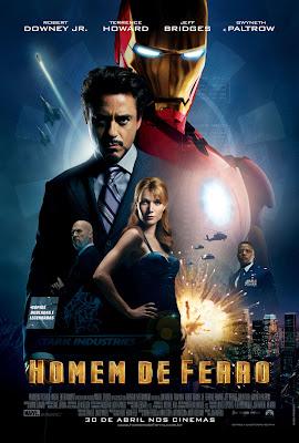 Homem de Ferro Dublado Bluray