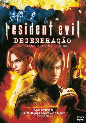 Resident Evil: Degeneração - DVDRip Dual Áudio
