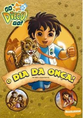 Go Diego Go!: O Dia da Onça! - DVDRip Dublado