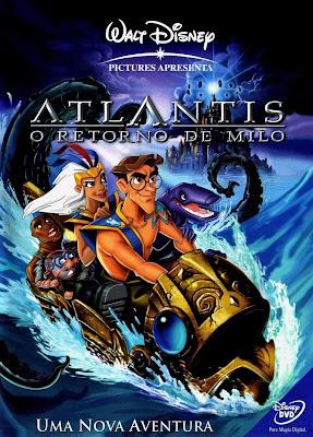 Atlantis 2: O Retorno de Milo - DVDRip Dublado