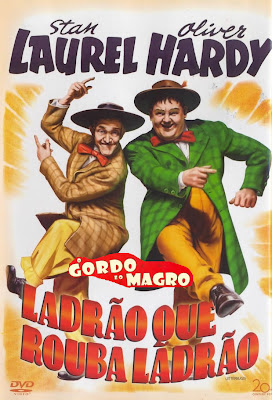 O Gordo e o Magro: Ladro Que Rouba Ladro - DVDRip Dublado