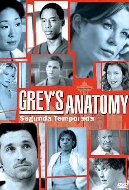 Grey's Anatomy - 2ª Temporada Completa - DVDRip Dublado