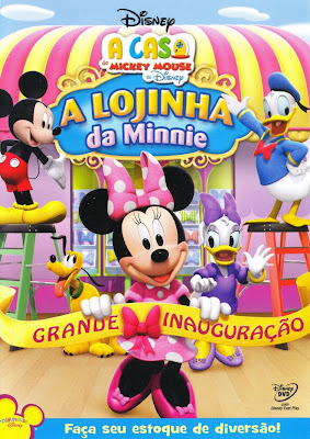 A Casa do Mickey Mouse: A Lojinha da Minnie - DVDRip Dublado