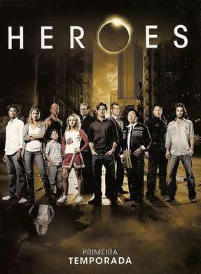 Heroes - 1ª Temporada Completa - DVDRip Dual Áudio