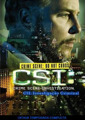 CSI: Investigação Criminal - 8ª Temporada Completa - DVDRip Dual Áudio