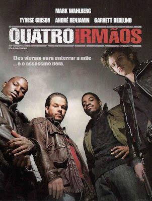 Filme Poster Quatro Irmãos DVDRip XviD & RMVB Dublado