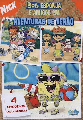 Bob Esponja e Amigos Em: Aventuras de Verão - DVDRip Dublado