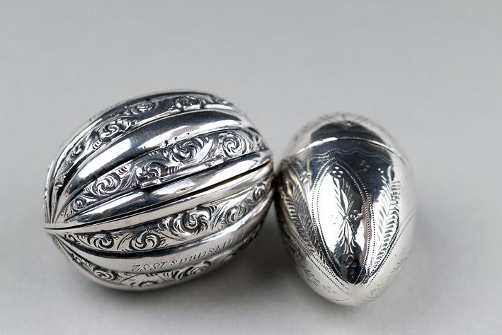Silver Nutmeg Grater