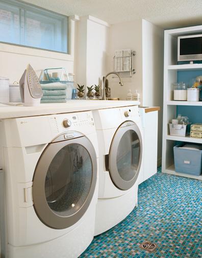 Pretty Laundry Rooms