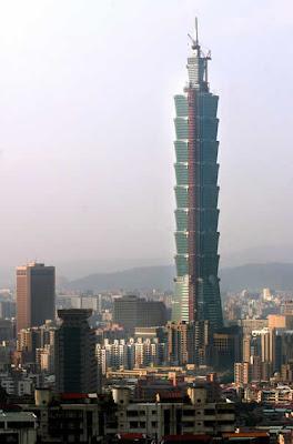 actualmente el uctapei ud situado en taiwn es el de mayor altura en el planeta ste termin de ser construido en al ao y tiene una altura de