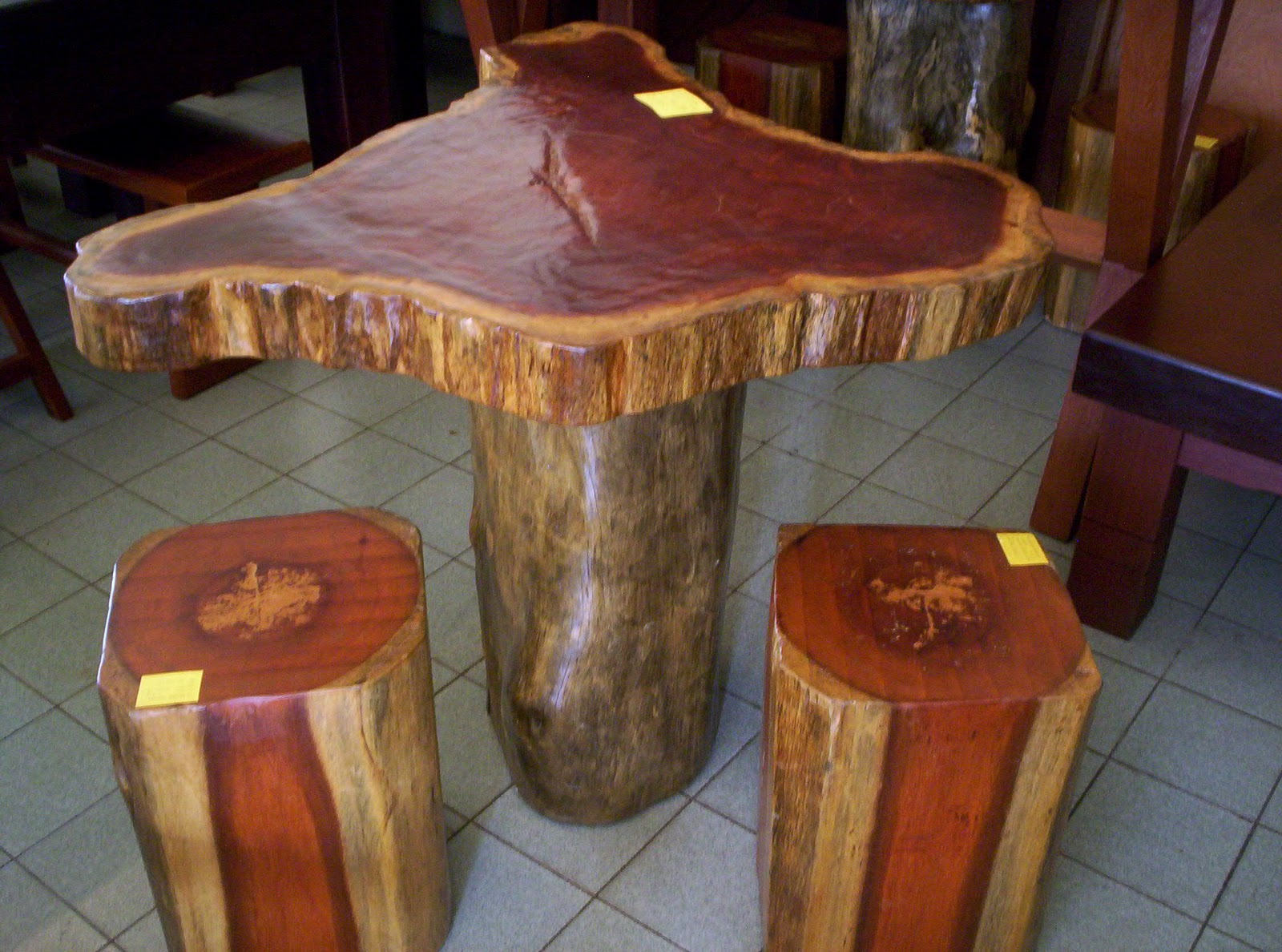 Belian wood furniture design: We are selling furniture made from