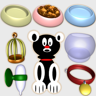 Pet Owner accessories icons