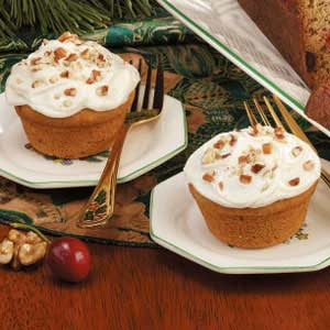 ... also addictive like meth 5 pumpkin muffins with cream cheese frosting