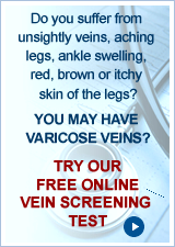 Free online vein screening - VeinScreening.co.uk