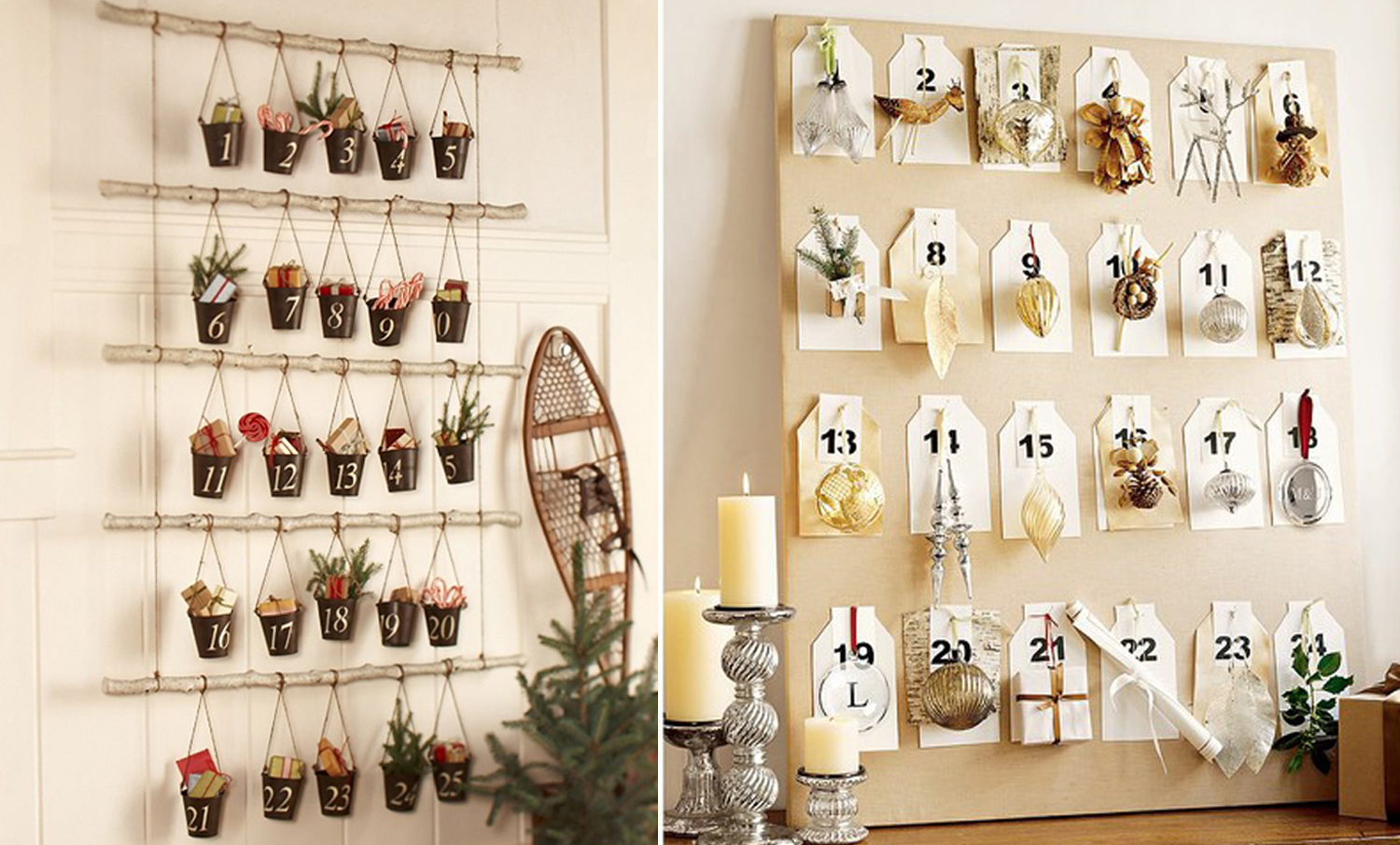 Typography Advent Calendar : In honor of design diy advent calendars part i
