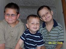 Darian, Gavin and Brandon