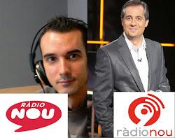 """JULIO BARROSO, NUEVO COLABORADOR EN """"BON MATÍ"""", RÁDIO NOU"""