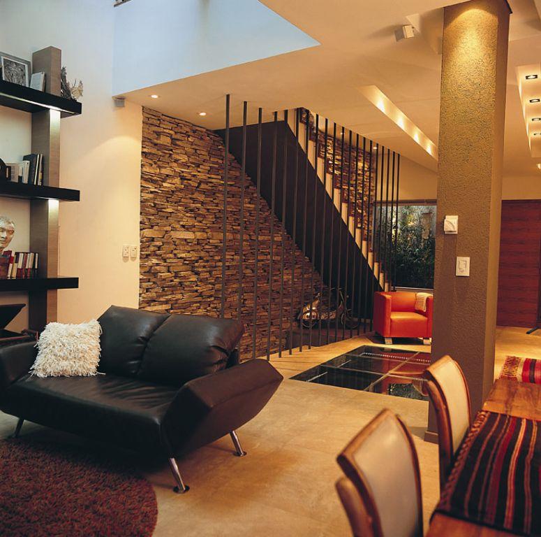 Agosto 2009 tecnohaus blog de casas - Decoracion en piedra para interiores ...