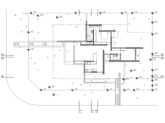Casa de ladrillos bak arquitectos tecno haus - Planos de arquitectos ...