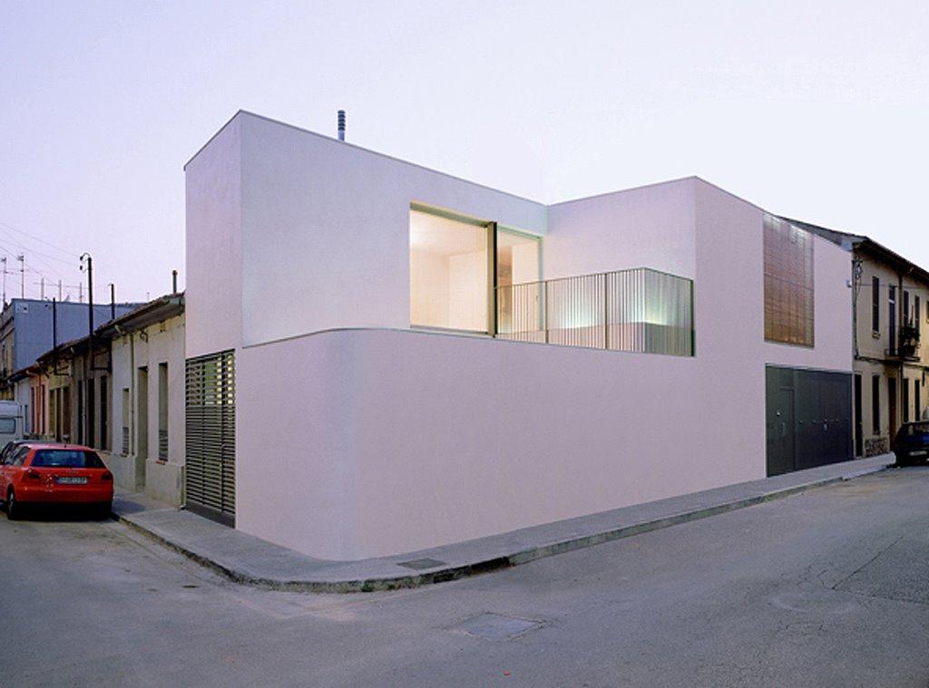 Casa 101 h arquitectes blog y arquitectura for Diseno vivienda