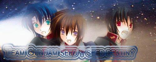 Gundam Seed y Seed Destiny